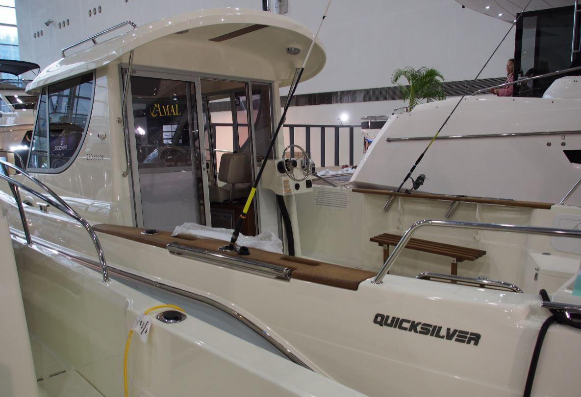 Quicksilver en vedette au Taïwan Boat Show