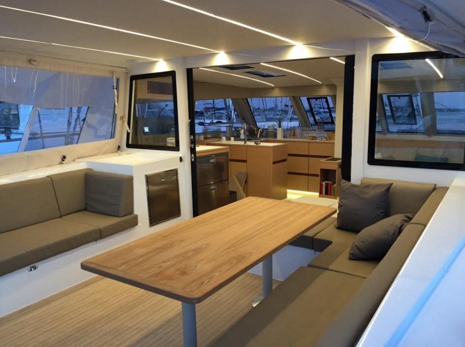 SCOOP - toutes premières photos du catamaran Bavaria Nautitech Open 46