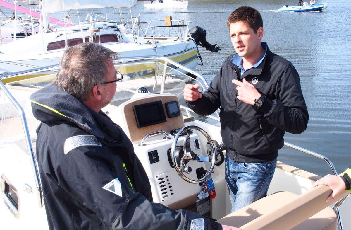 Explication de texte avec Clément Poujade, d'Atlantic Yachting....