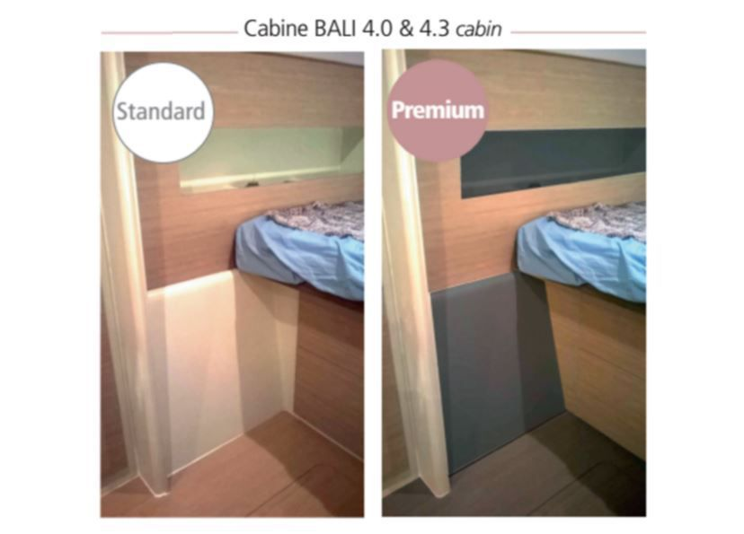 """Une nouvelle finition """"Premium"""" sur les catamarans Bali"""