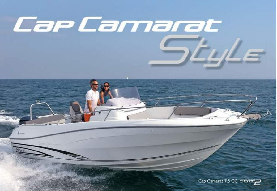 Jeanneau Cap Camarat Days de Mai - des offres incroyables sur la série spéciale Style