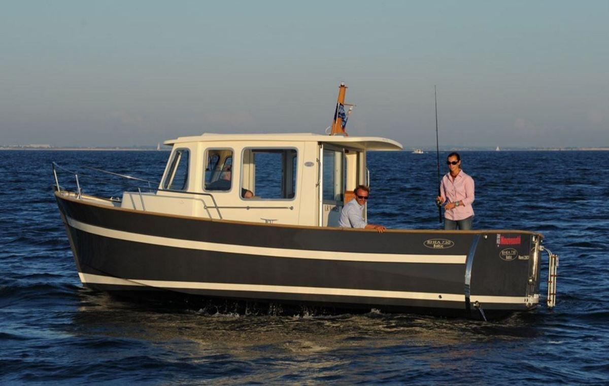 Rhéa 730 Baltic, un dur à la pêche !