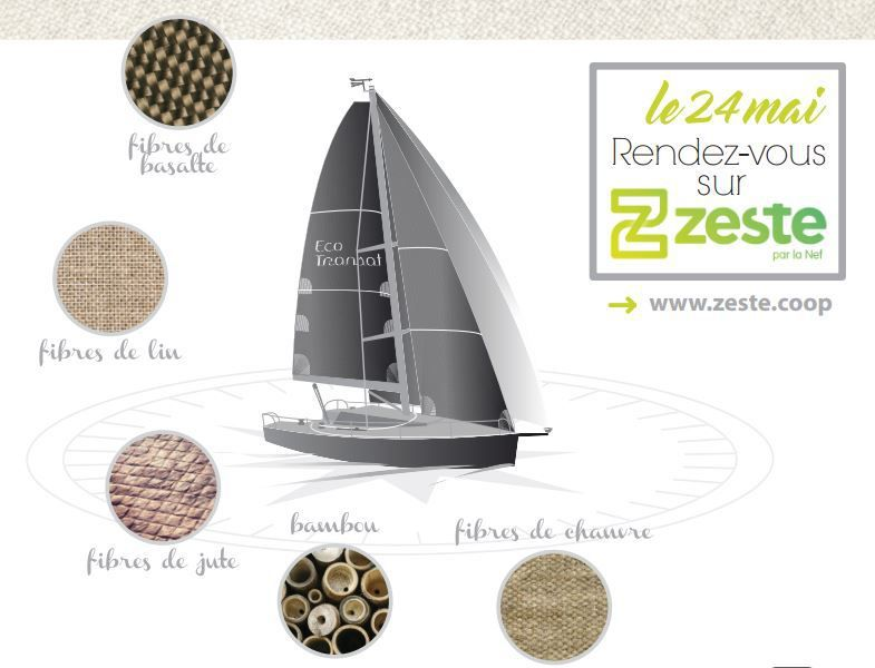 Interview audio - EcoTransat, un étonnant projet de voiliers construits en fibres naturelles