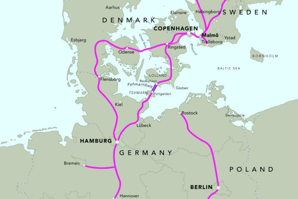 VIDEO - Un tunnel géant pour relier l'Allemagne au Danemark