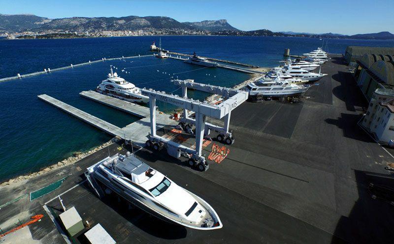 100 emplois créés en 1 an à Saint Mandrier (83), chez IMS Shipyard