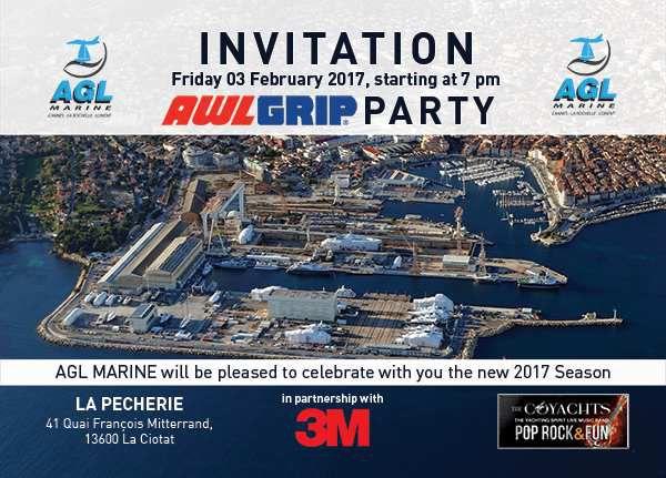 La Ciotat - une soirée AGL Marine Awlgrip pour les professionnels du nautisme, vendredi soir