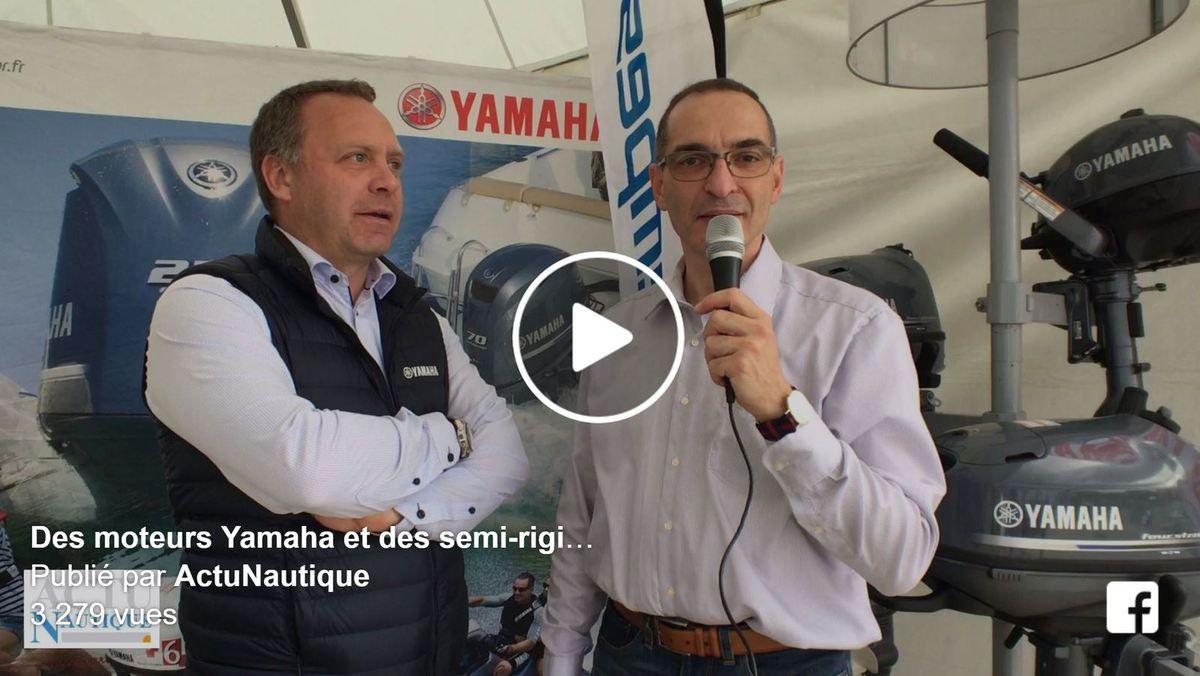 Boat en Seine - Des moteurs Yamaha et semi-rigides Capelli à essayer ce week-end à Paris