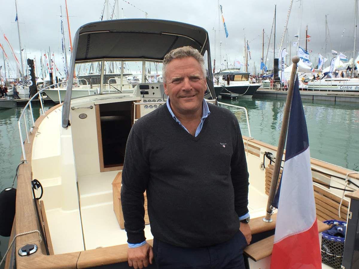 Alex Pinet, directeur général du chantier rochelais Rhéa Marine