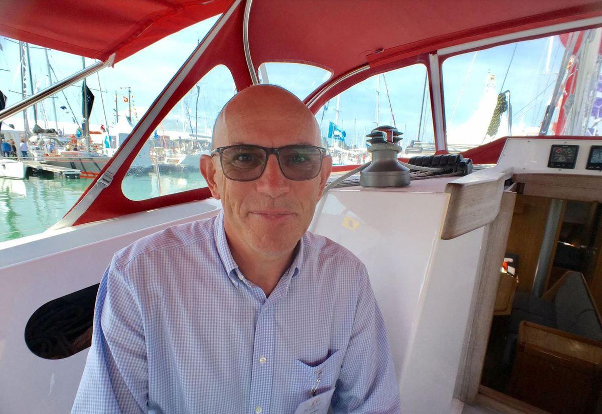 Christian Picard, DG du chantier vendéen Alubat (Les Sables d'Olonne)