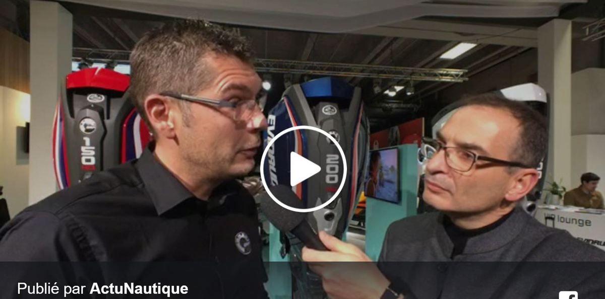 Vidéo Nautic 2017 - des offres exceptionnelles chez Evinrude jusqu'à dimanche soir
