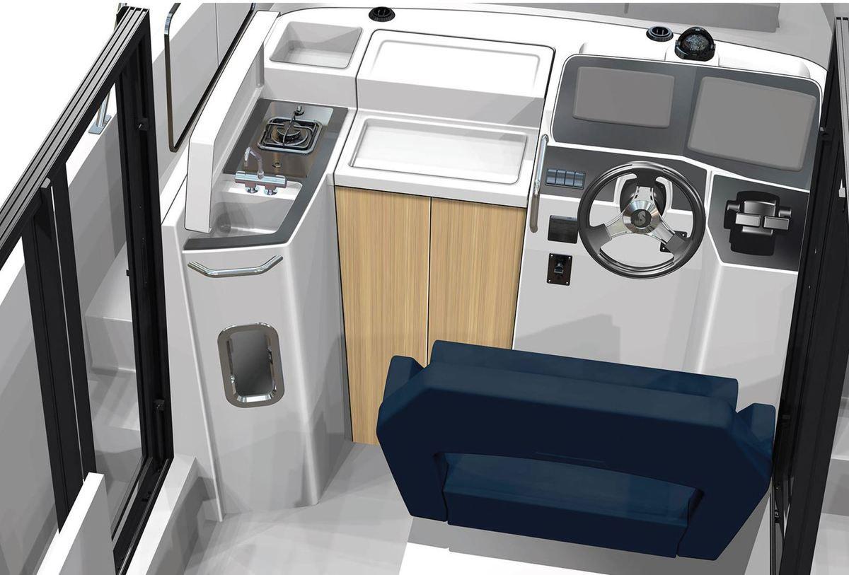 Scoop - premiers visuels du nouveau Bénéteau Barracuda 9