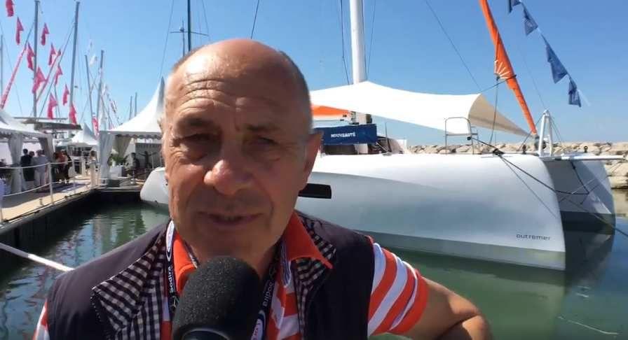 Salon International du Multicoque 2018 – Claude, propriétaire du tout premier Outremer 51, nous parle de son catamaran Outremer Yachting