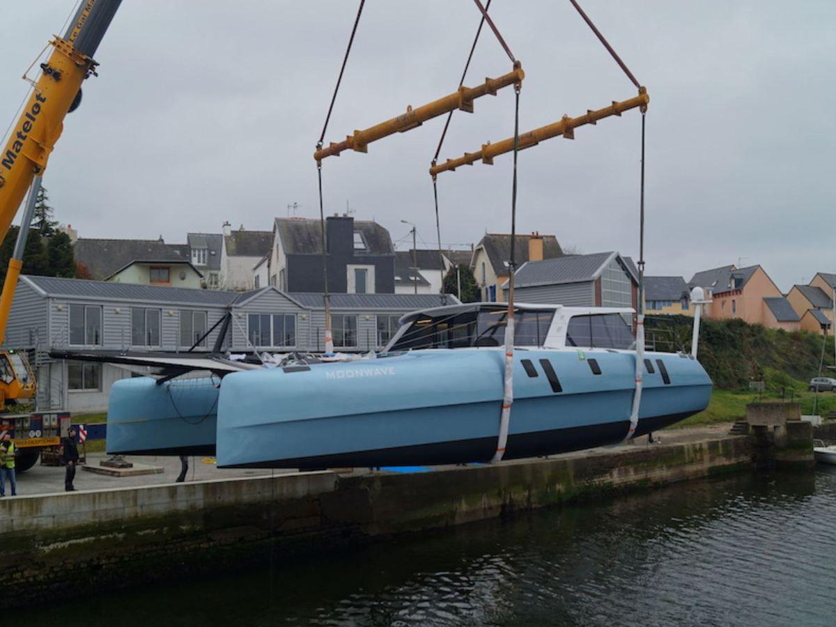 Refit d'un catamaran Gunboat au chantier JFA Yachts