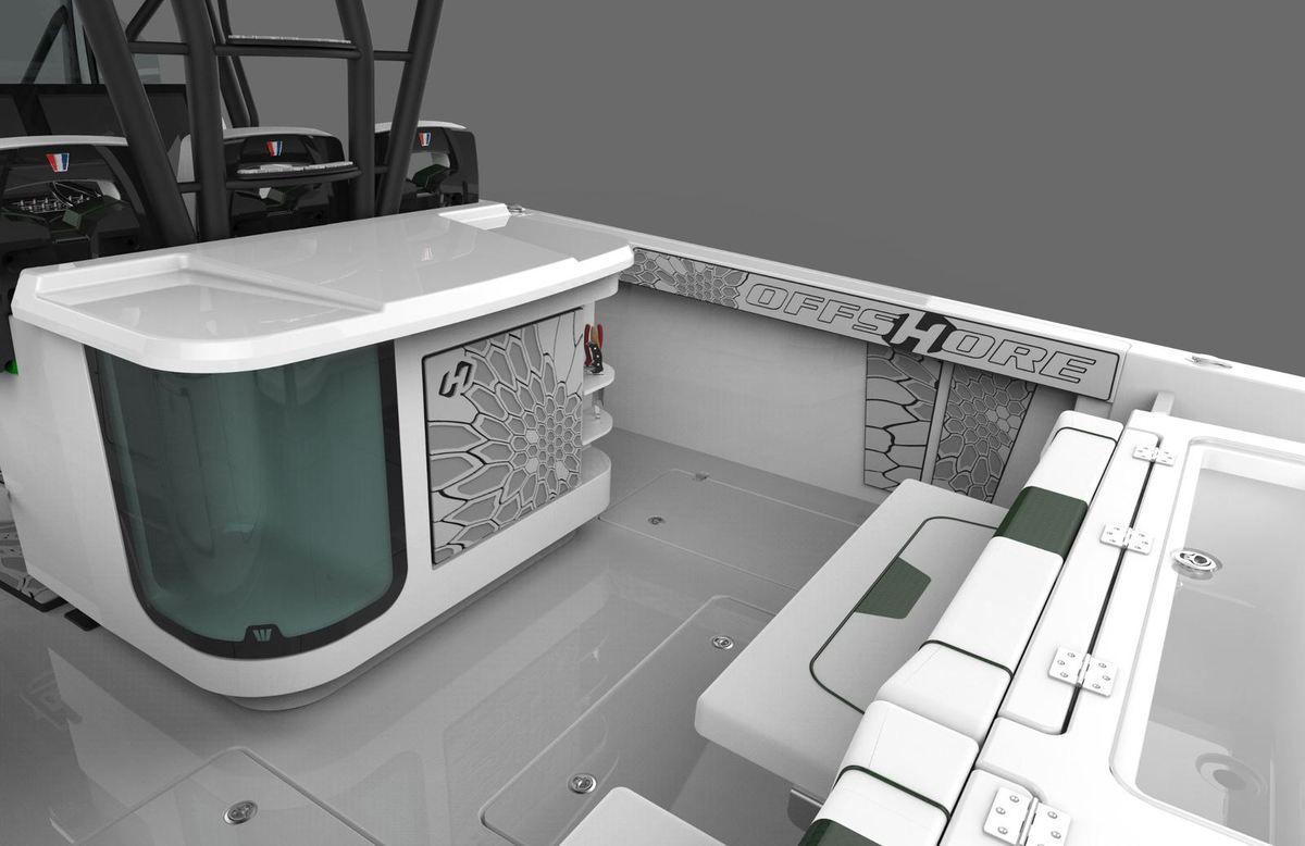 Scoop - tous premiers visuels du nouveau Wellcraft 352, future star du Sport Fishing