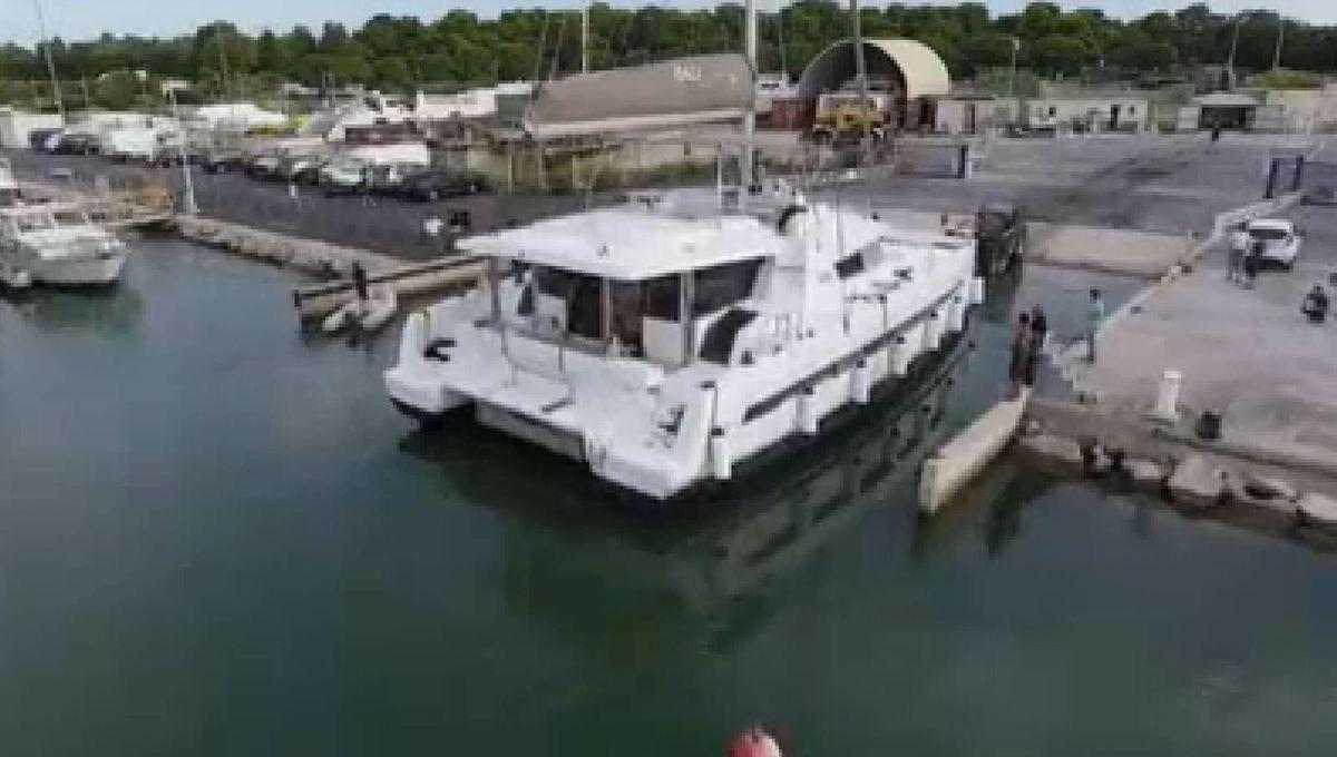 Scoop - mise à l'eau du nouveau catamaran Bali 5.4