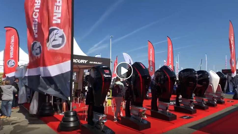 Directs du Grand Pavois – Mercury met en avant ses nouveaux moteurs V6 et V8 !