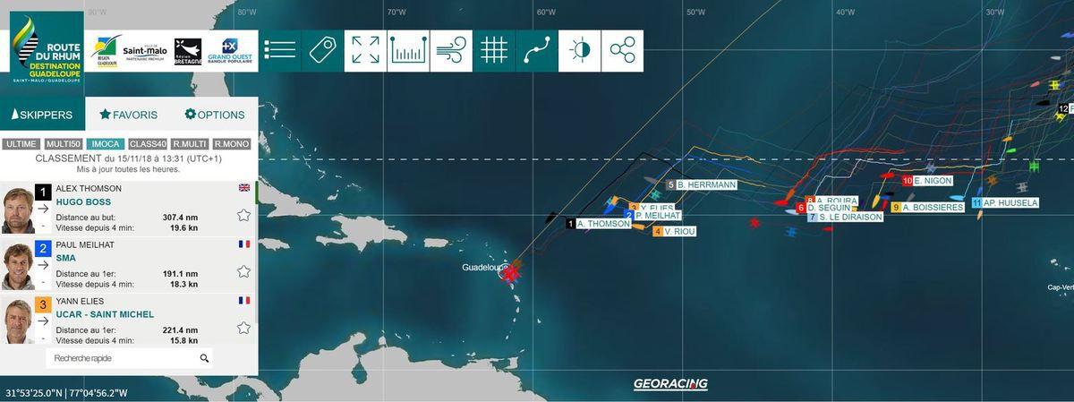 Route du Rhum 2018 - le dénouement est proche pour les Imoca, l'analyse d'Alain Gautier