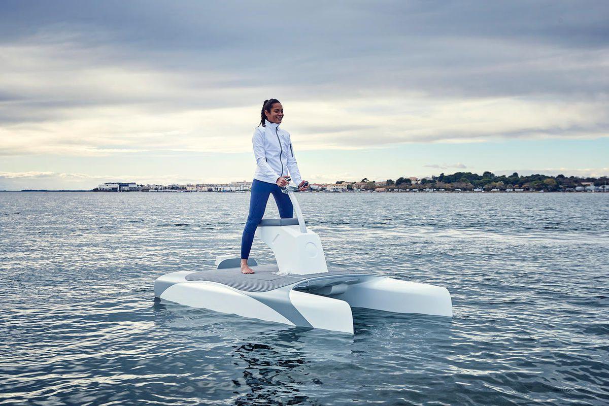 Nautic 2018 - l'Overboat invente les foils autorégulés !
