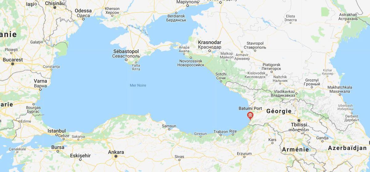 Géorgie - un projet de Marina de 250 millions de dollars en Mer Noire, à Batoumi