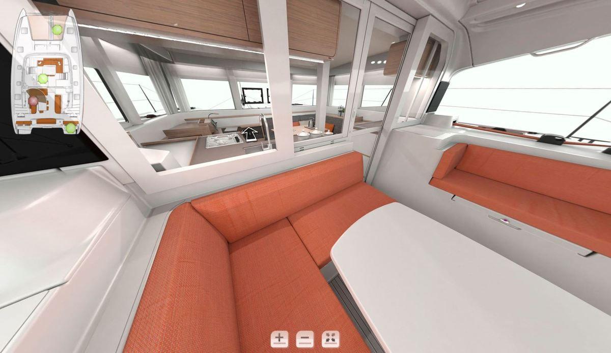 Multicoques - Premiers visuels du pont avant et du cockpit de l'Excess 12