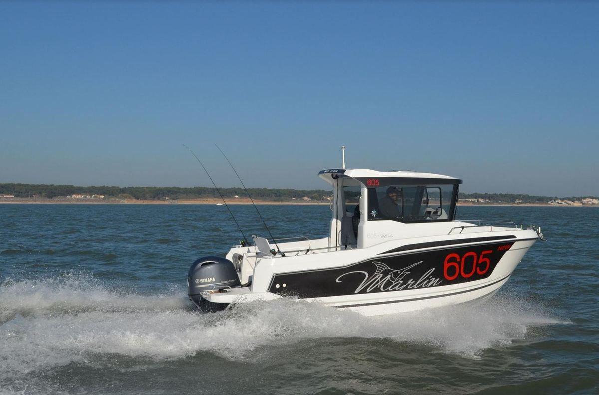 Essai du Jeanneau Merry Fisher 605 Marlin