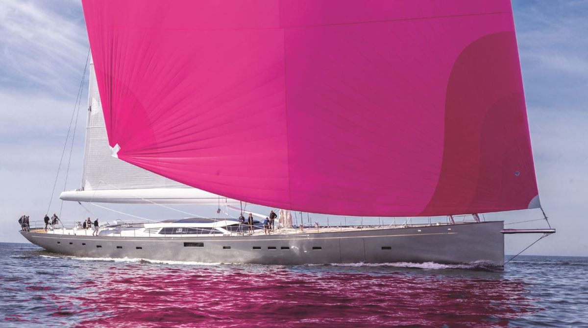 Pink Gin Baltic Yachts, un sloop moderne - photo : DR
