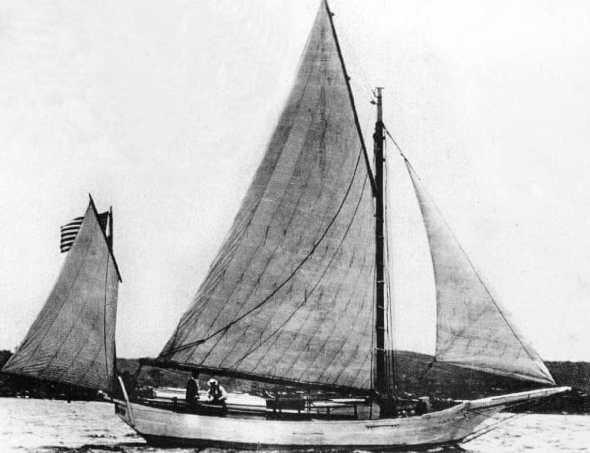 """""""Spray"""", le yawl de Slocum, premier navigateur à faire le tour du monde à la voile"""