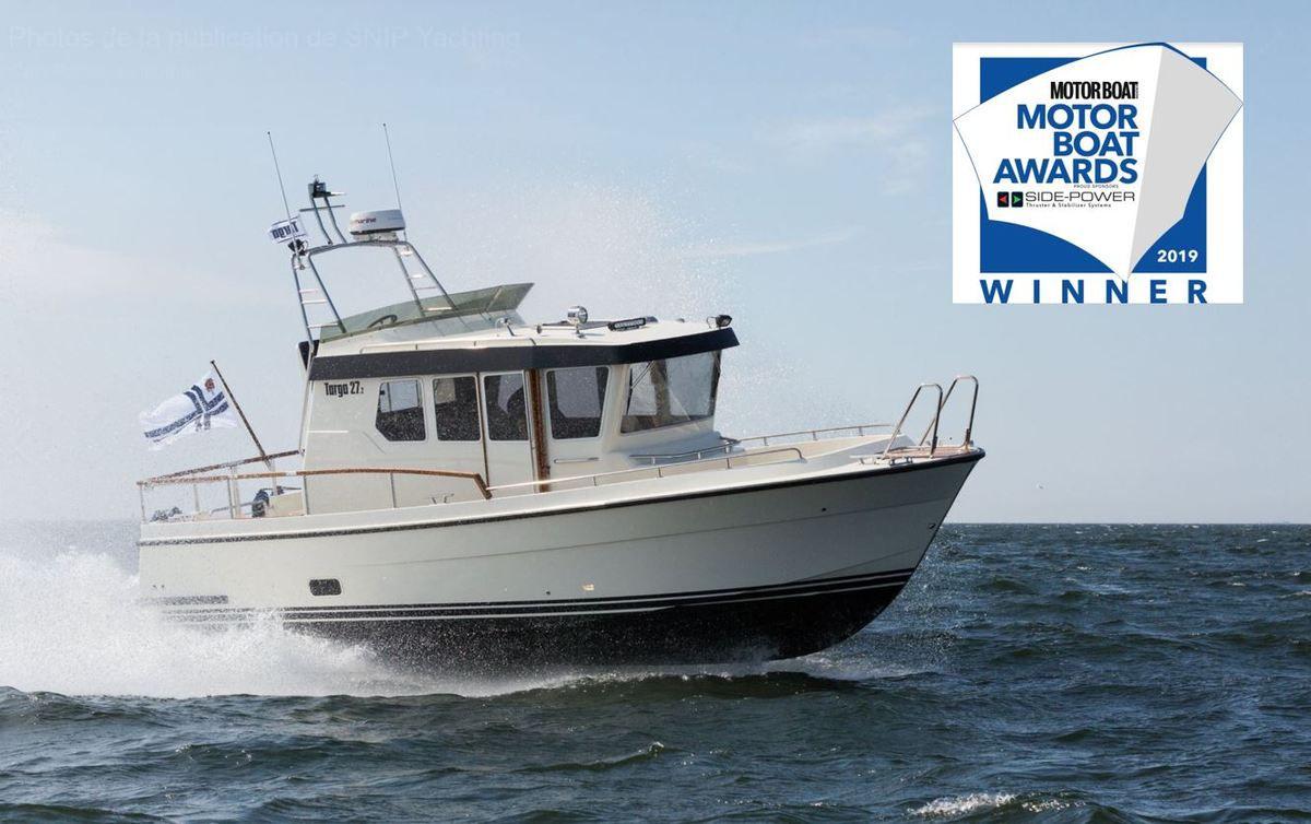 Le Targa 27.2 remporte le Motor Boats Award 2019 !
