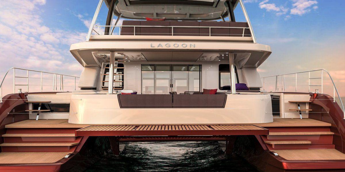 Scoop - premiers visuels du  Lagoon Sixty 7, nouveau motoryacht de Lagoon !