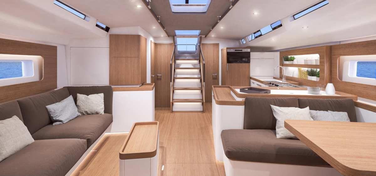 Scoop - premières photos du nouveau Bénéteau First Yacht 53