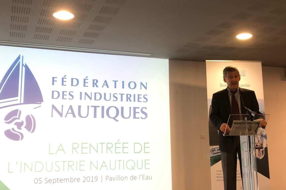 Yves Lyon-Caen, président de la Fédération des Industries Nautiques