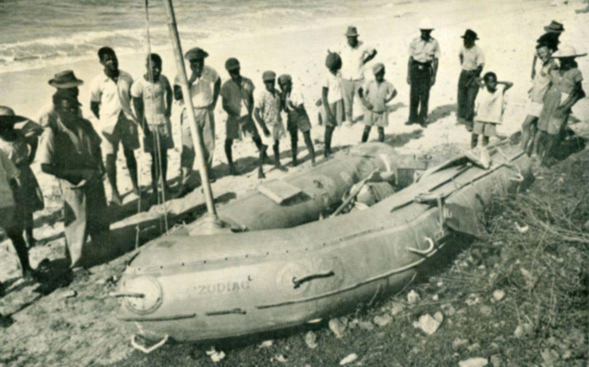 Homme à la mer MOB (5/5) - Alain Bombard, le naufragé volontaire