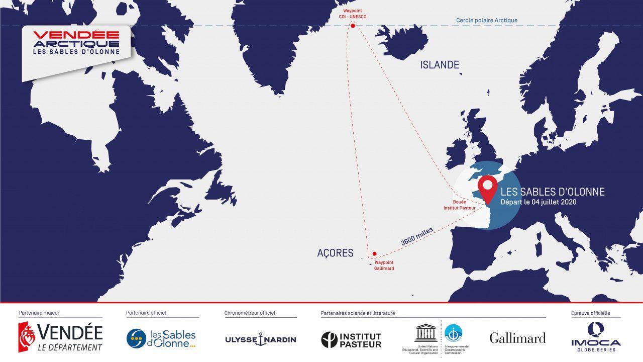 Vendée-Arctique-Les Sables – Une course inédite pour préparer le Vendée Globe