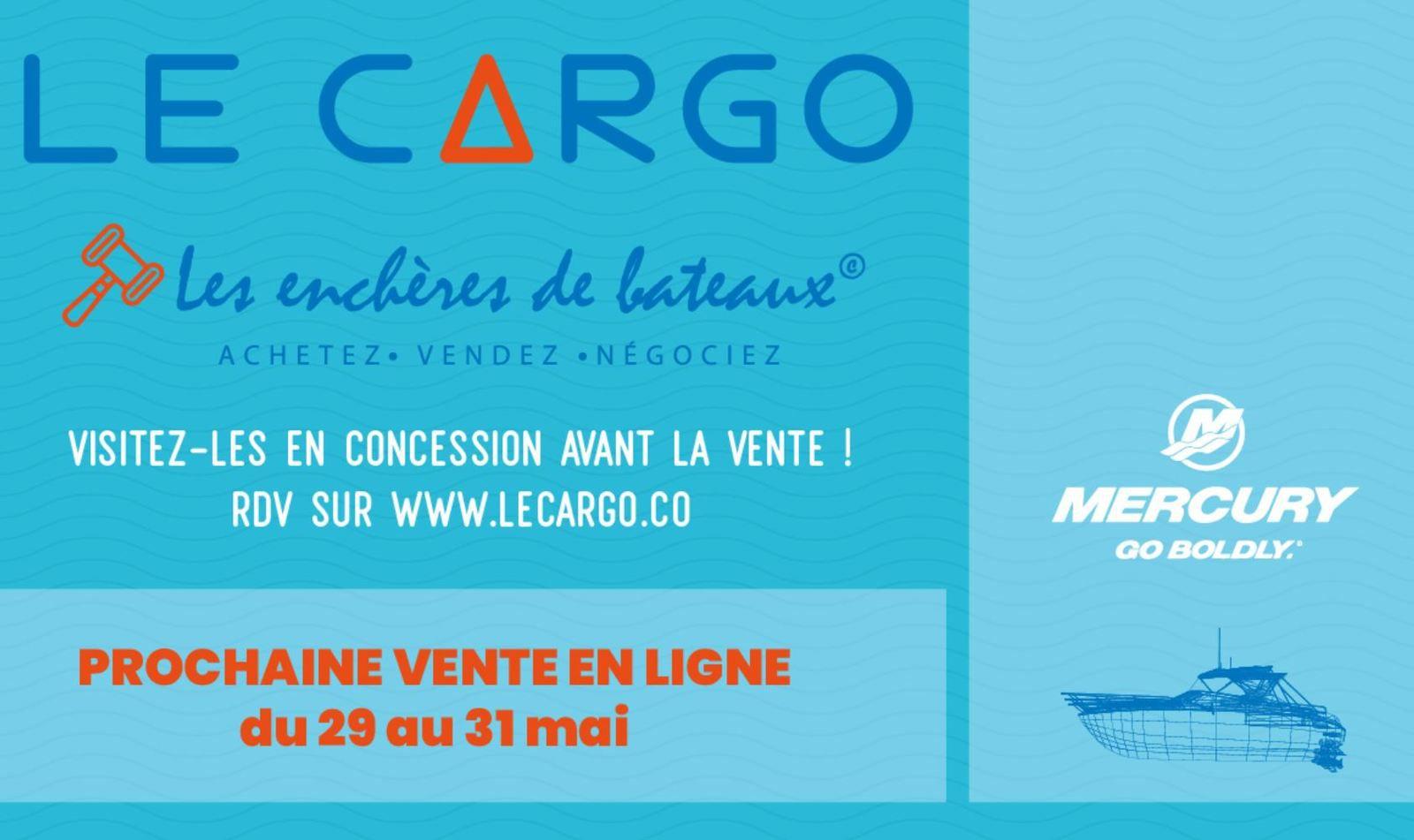 120 bateaux d'occasion en enchères privées, du 29 au 31 Mai 2020 sur le Cargo.co