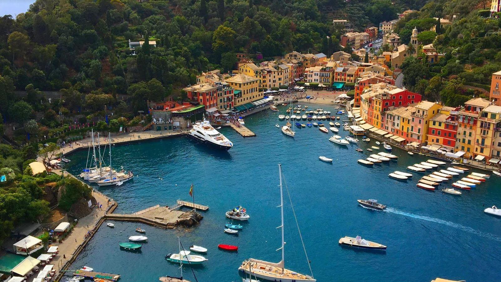 Découvrir Portofino depuis la mer, au départ de la Spezia...