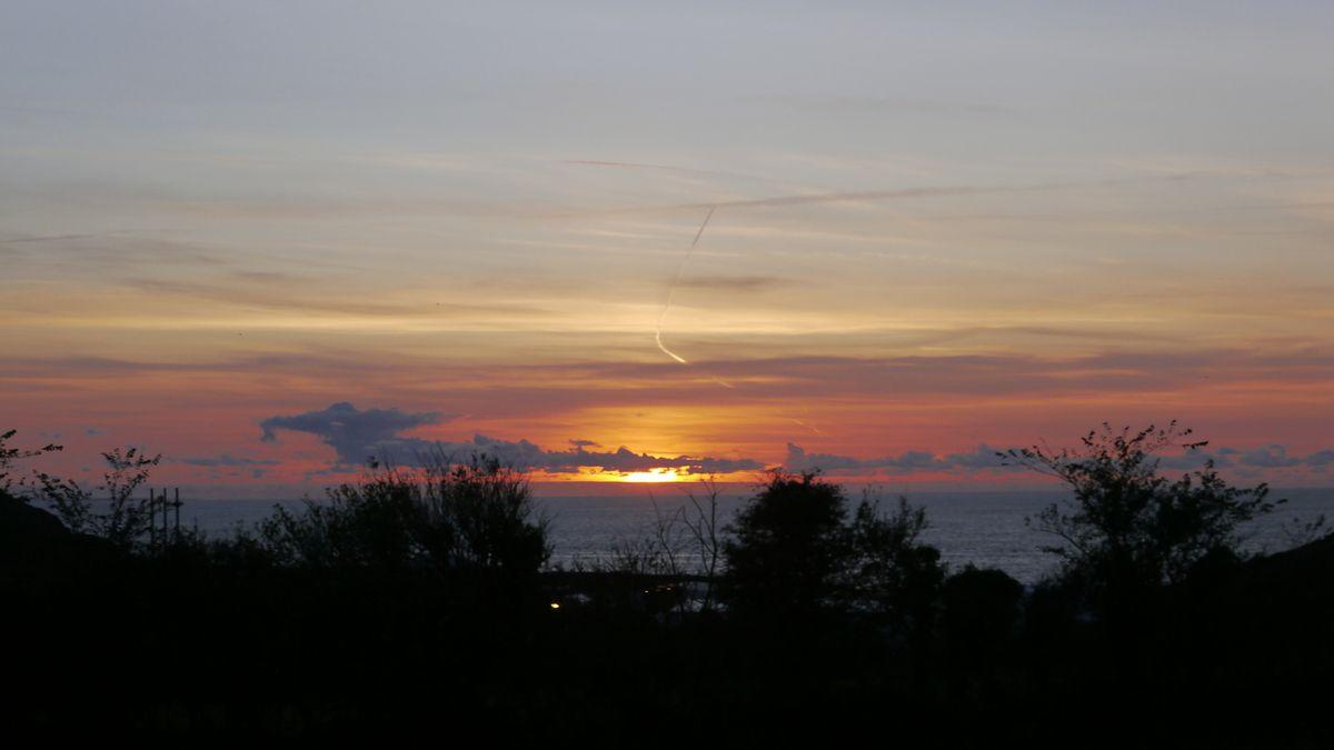 Sunset, september...
