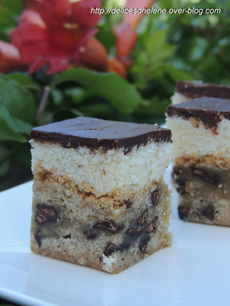 COOKIE BOUNTY BARS