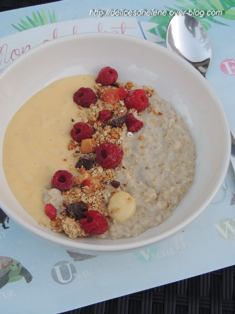 SMOOTHIE-PORRIDGE BOWL A LA MANGUE