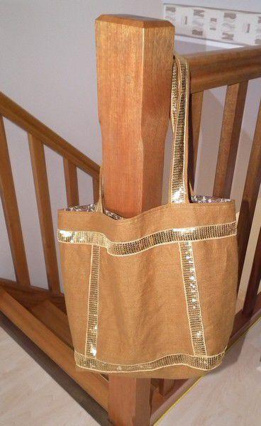 Couture.... sac à paillettes....