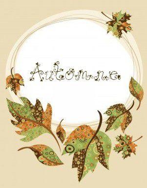 Free du lundi.... Couronne d'automne