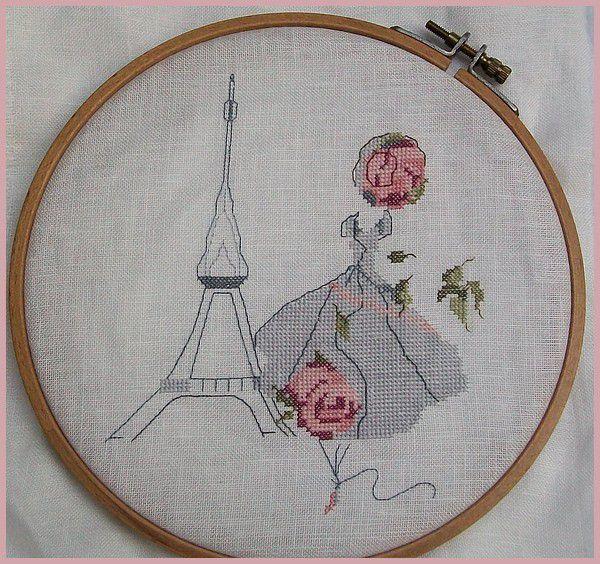 A Paris - c'est Brodé