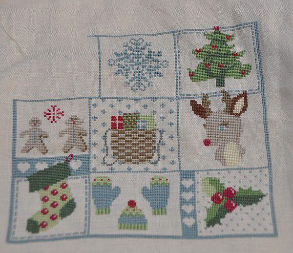 Sal en attendant Noël, Etape 4 et mini free.