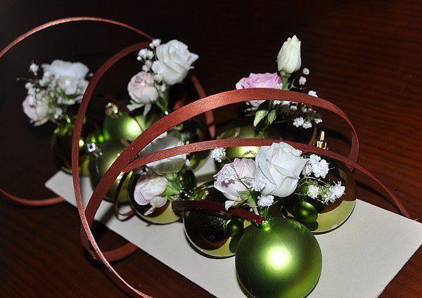 Margaux et ses fleurs... Noël
