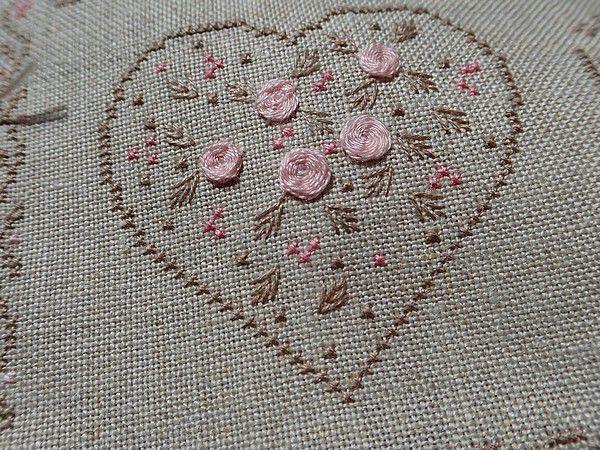 Victorian Valentines - C'est brodé