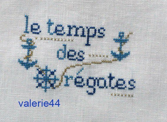 Vous brodez mes frees....