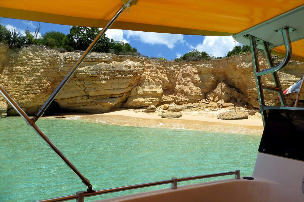 Boat trip departing from St. Martin