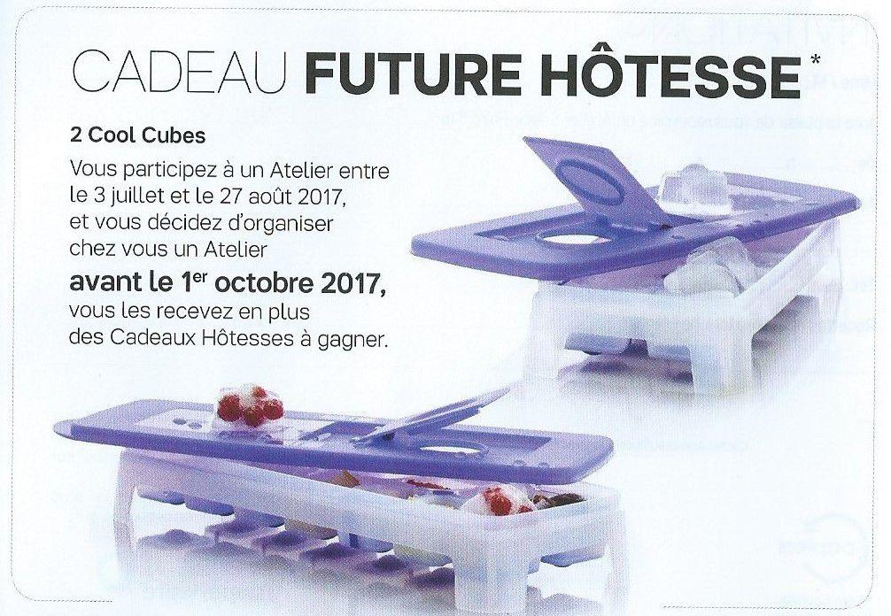 Cadeaux hôtesse Eté Juillet/Août 2017