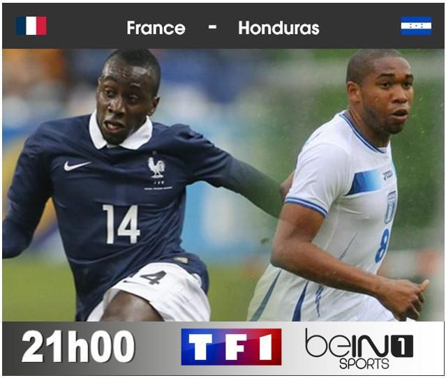 [Dim 15 Juin] Coupe du Monde 2014 : France / Honduras (21h00) en direct sur TF1 et BeIN SPORTS 1 !
