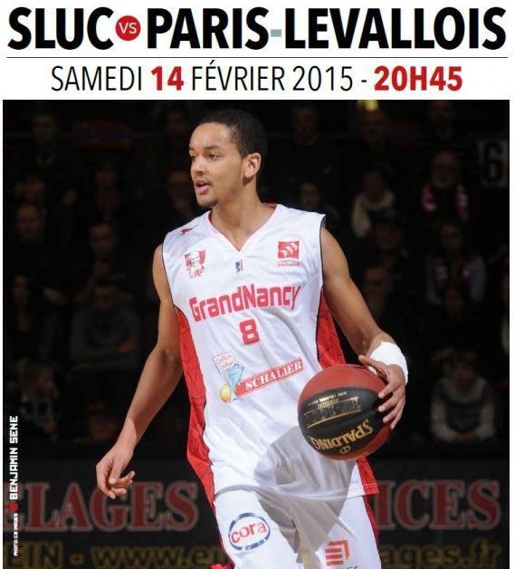 [Sam 14 Fév] Basket (21ème Journée de Pro A) Nancy / Paris-Levallois, à suivre en direct à 20h45 sur Canal Plus Sport !