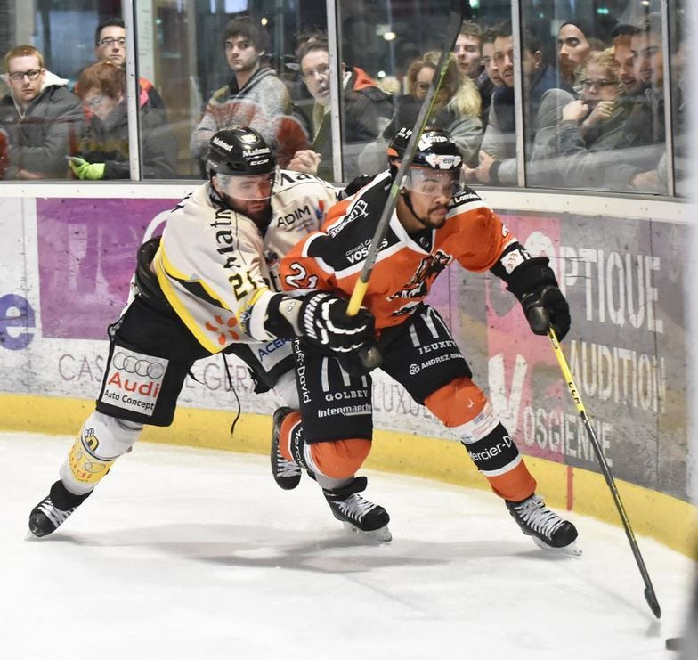 [Sam 14 Mar] Hockey (Ligue Magnus, 1/2 Finale Match 4) Epinal / Angers, à suivre en direct à 20h15 sur l'Equipe.fr !